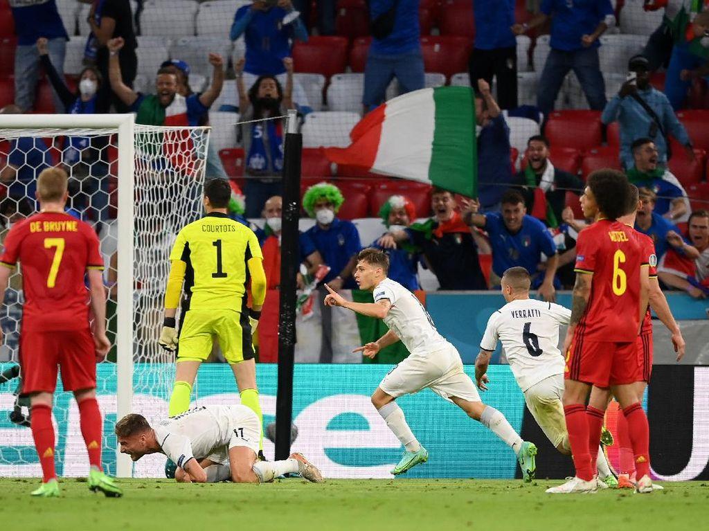 Hasil Euro 2020 Tadi Malam: Spanyol dan Italia ke Semifinal