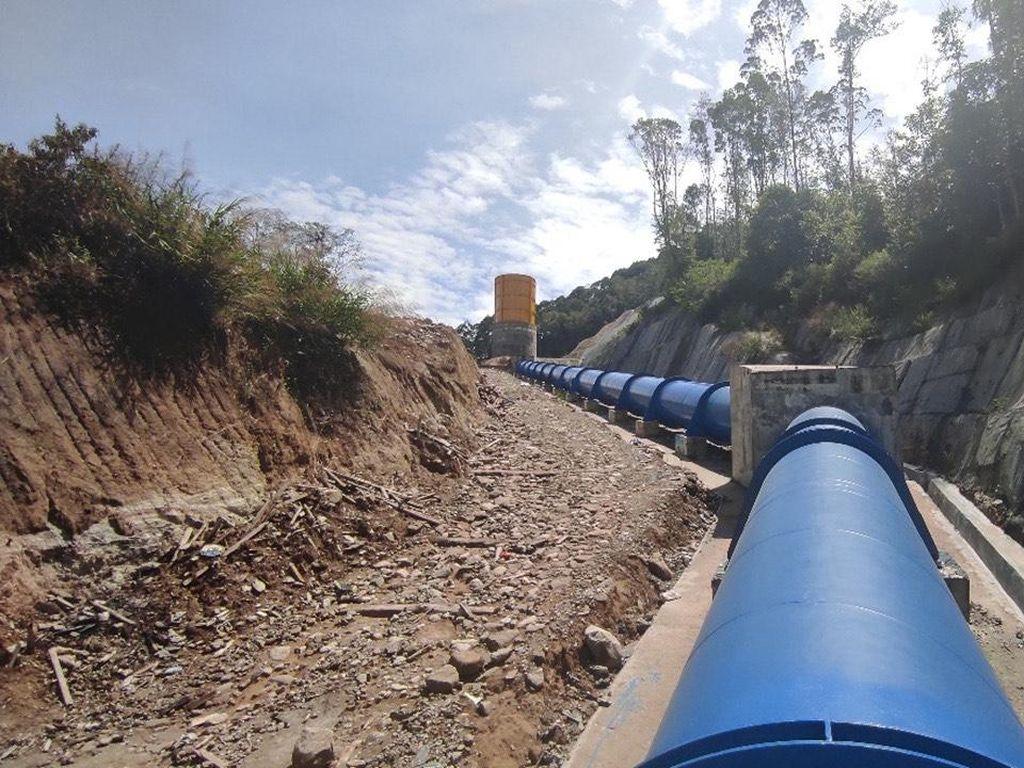 Hutama Karya Rampungkan Proyek Pembangkit Listrik Rp 142 M di Sumut