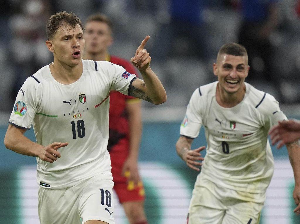 Euro 2020: Kalahkan Belgia, Bukti Italia Bisa Atasi Tim Top