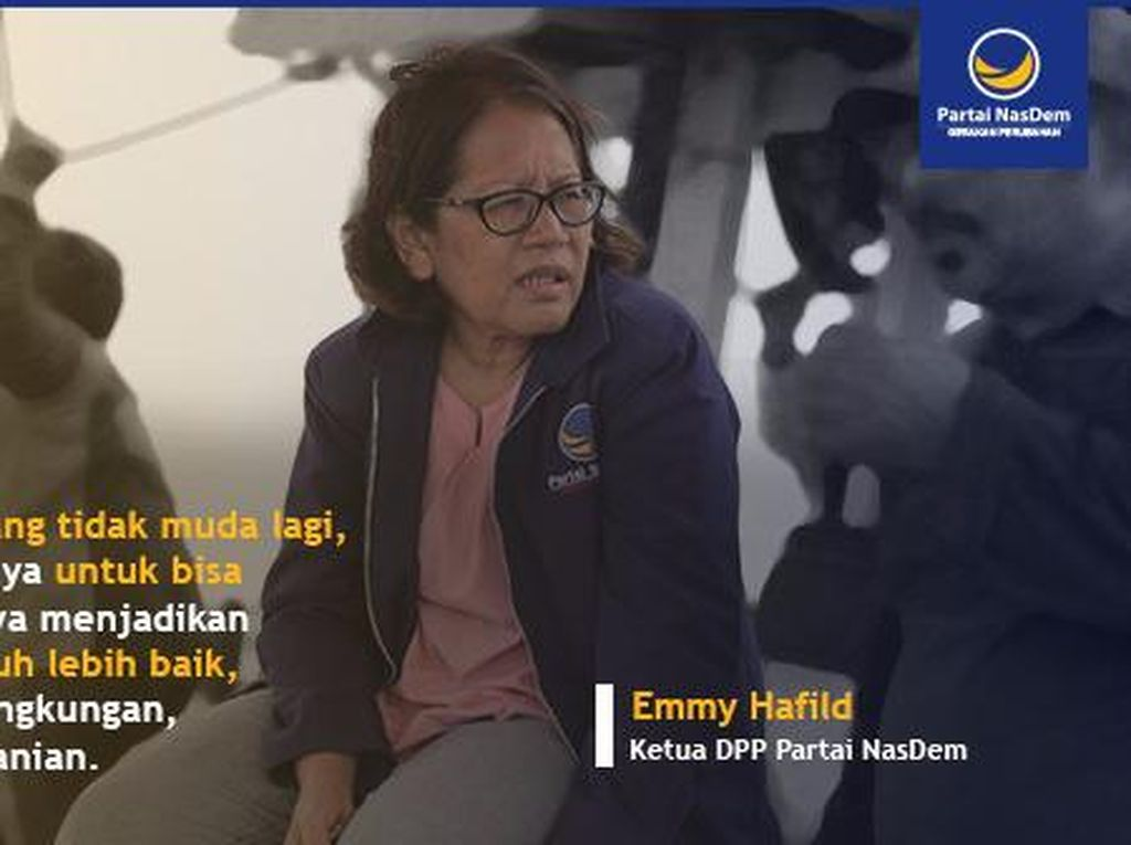 Ketua DPP NasDem Emmy Hafild Meninggal Dunia