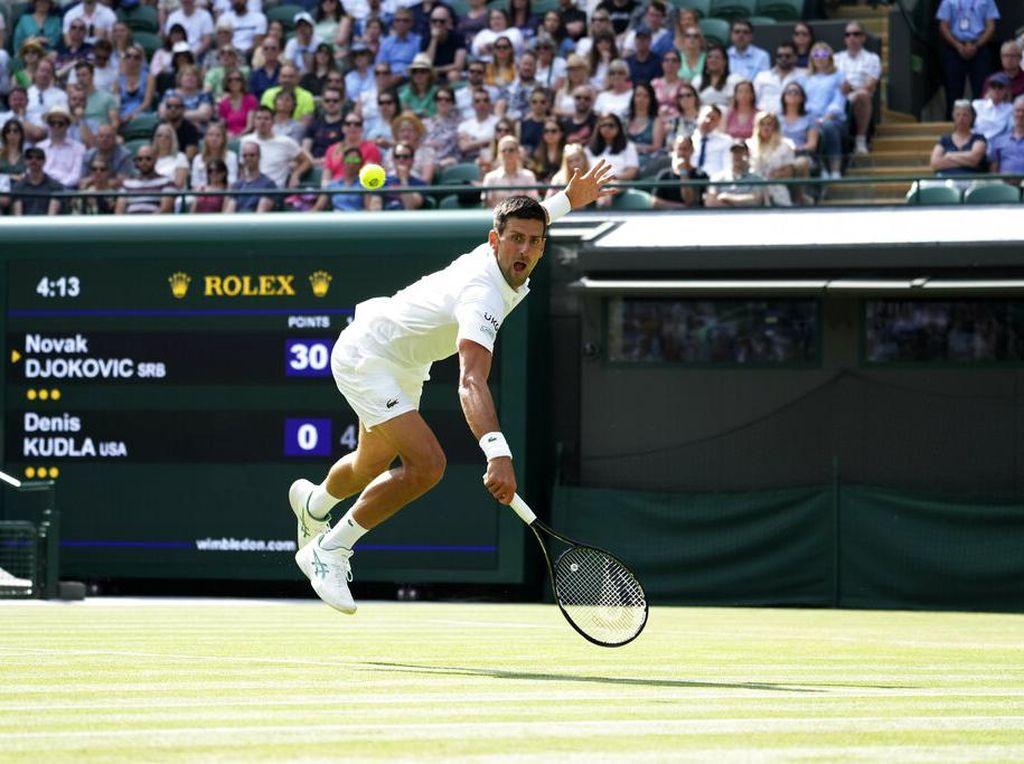 Wimbledon 2021: Djokovic Lolos ke Babak Keempat, Murray Kandas
