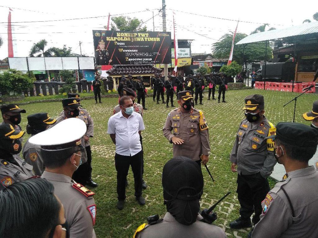 Penyekatan dan Jalan Ditutup Pukul 8 Malam Saat PPKM Darurat di Blitar Raya