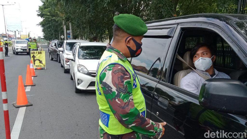 PPKM Darurat Sasar Perbatasan Klaten-Yogya