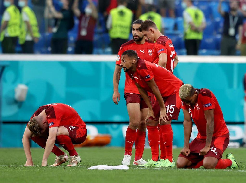 Swiss Dihentikan Spanyol, Shaqiri: Agak Kurang Beruntung Saja