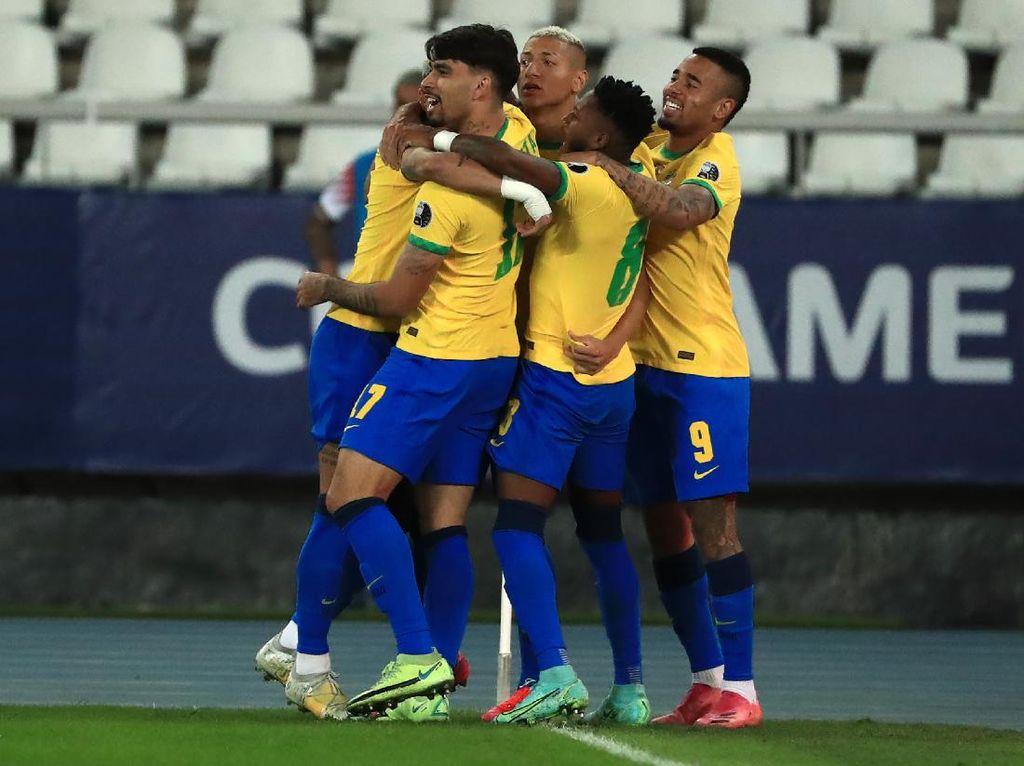 Copa America 2021: Brasil dan Peru Melaju ke Semifinal