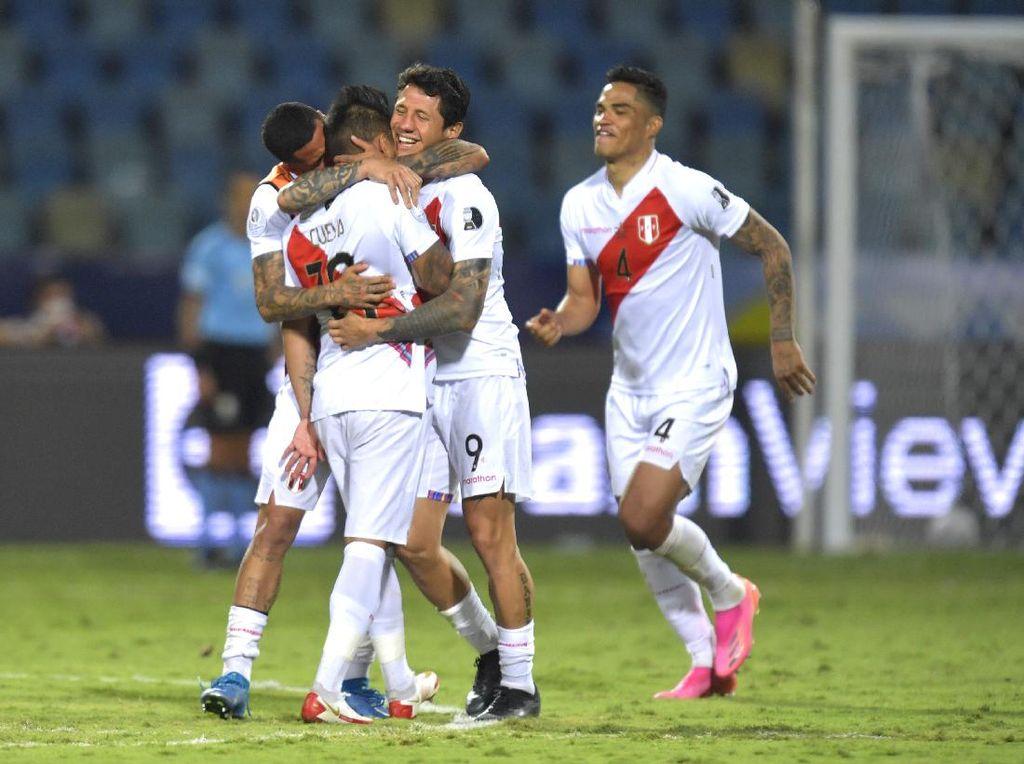 Peru Vs Paraguay: Menang Adu Penalti, Los Incas ke Semifinal Copa America