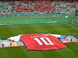 Denmark ke Semifinal Euro 2020, Persembahan untuk Eriksen