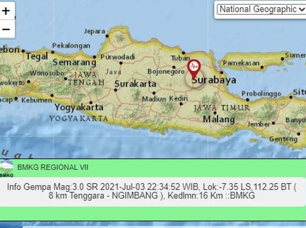 Pakar Sebut Sesar Kendeng Aktif, Gempa Guncang Surabaya Perlu Diantisipasi