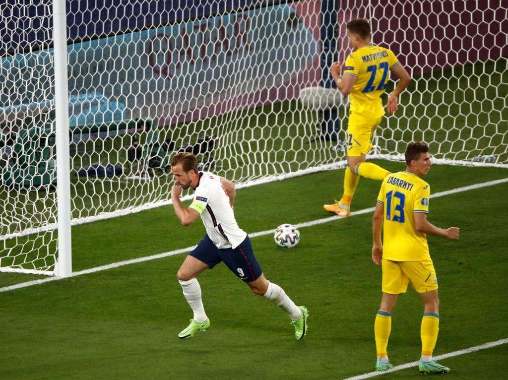 Inggris di Semifinal Usai Clean Sheet & Pesta Gol, Kane Bilang Begini