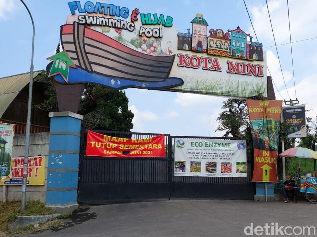 Imbas PPKM Darurat, Objek Wisata di Lembang Tutup Sementara