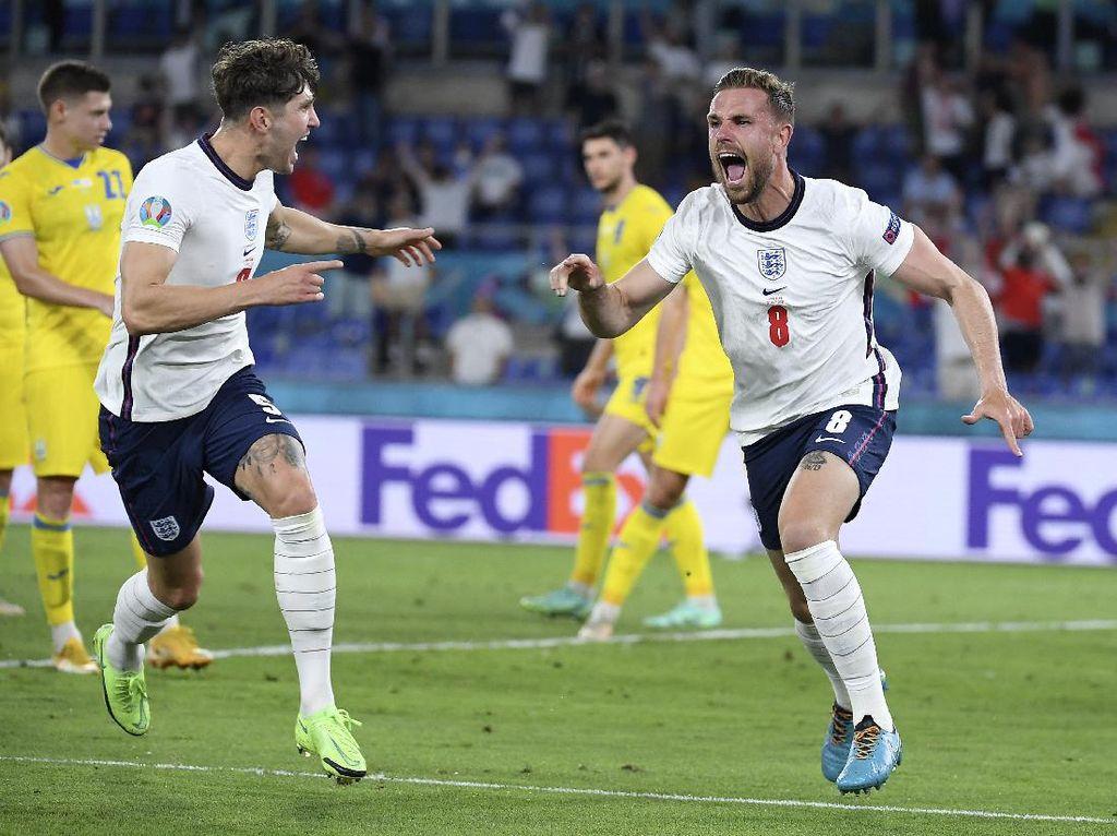 Akhirnya! Jordan Henderson Bikin Gol untuk Inggris