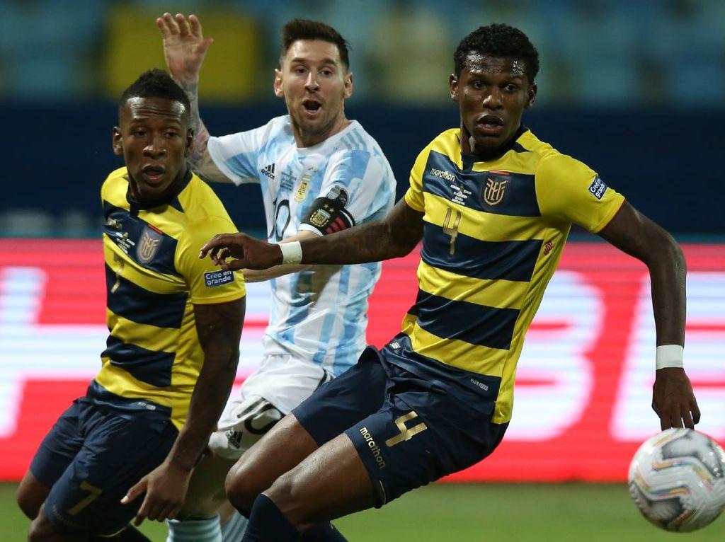 Argentina VS Ekuador: Messi Gemilang, La Albiceleste ke Semifinal