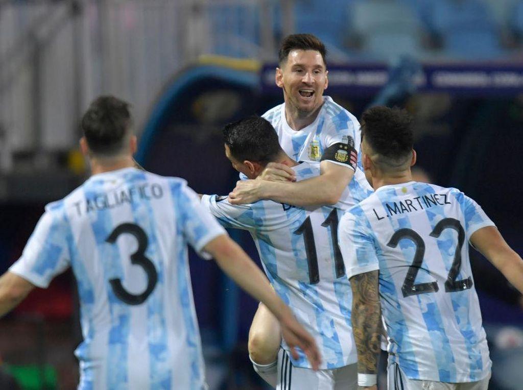 Top Skor Copa America 2021: Lionel Messi Masih Nomor 1