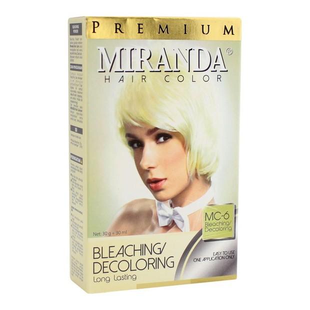 Miranda Hair Color Premium Bleaching (sumber : shopee.co.id/ayuatd)