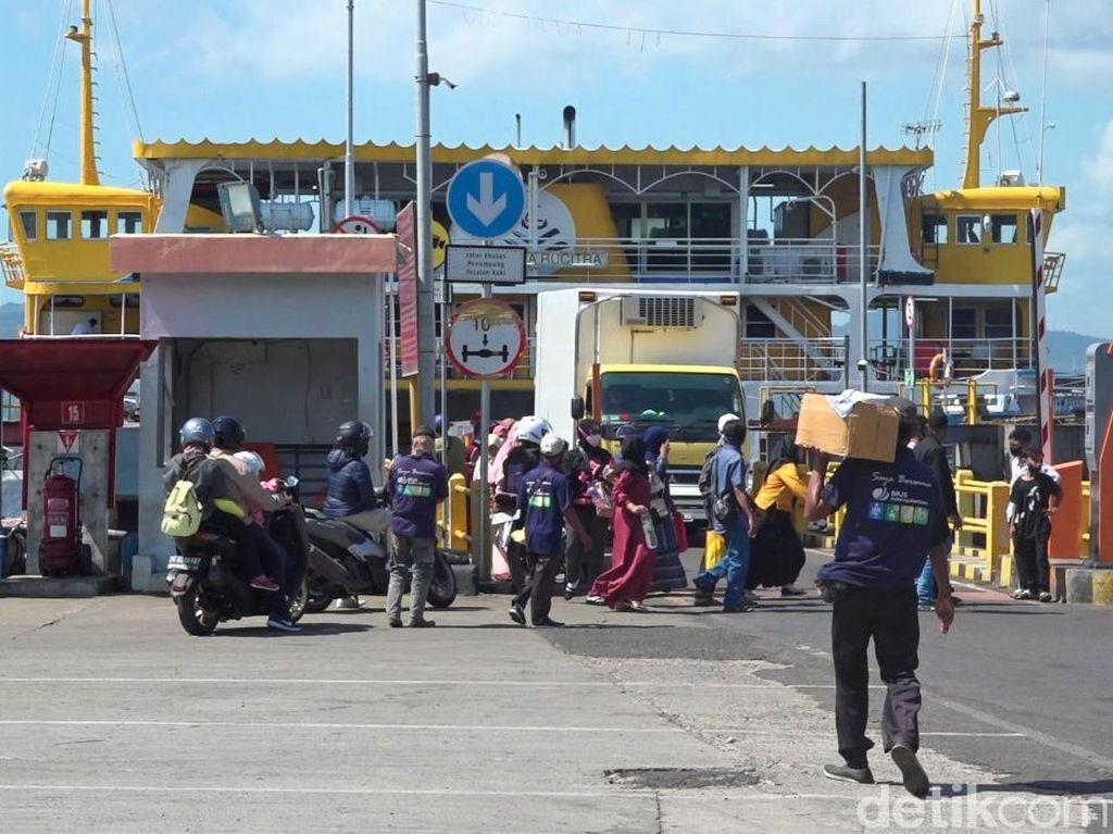 PPKM Darurat Diterapkan, Pengguna Jasa Pelayaran Jawa-Bali Turun 50%