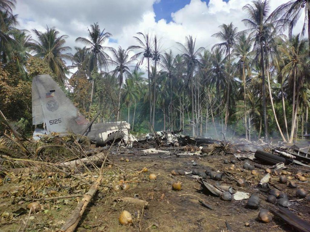 Bertambah, Korban Tewas Kecelakaan Pesawat Militer di Filipina Jadi 29 Orang