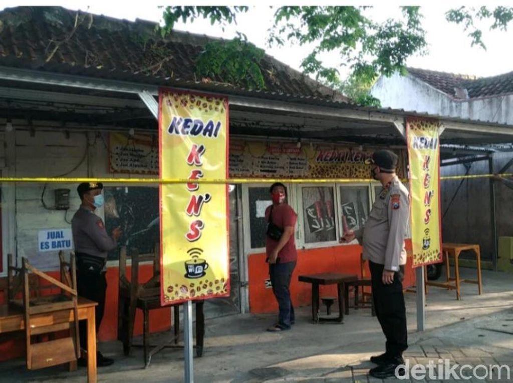 Belasan Warkop dan Kafe di Bojonegoro Disegel Langgar Aturan PPKM Darurat