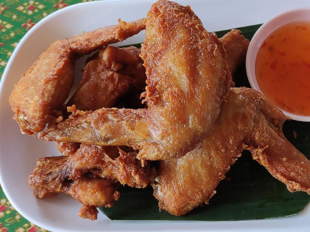 Resep Sayap Ayam Cripsy ala Thailand yang Gurih Mantap