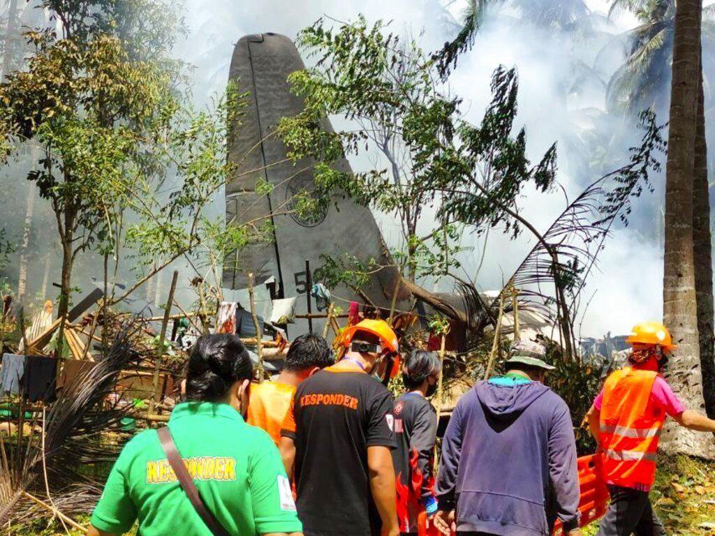 Kecelakaan Pesawat Hercules Militer Filipina, 3 Warga Tewas