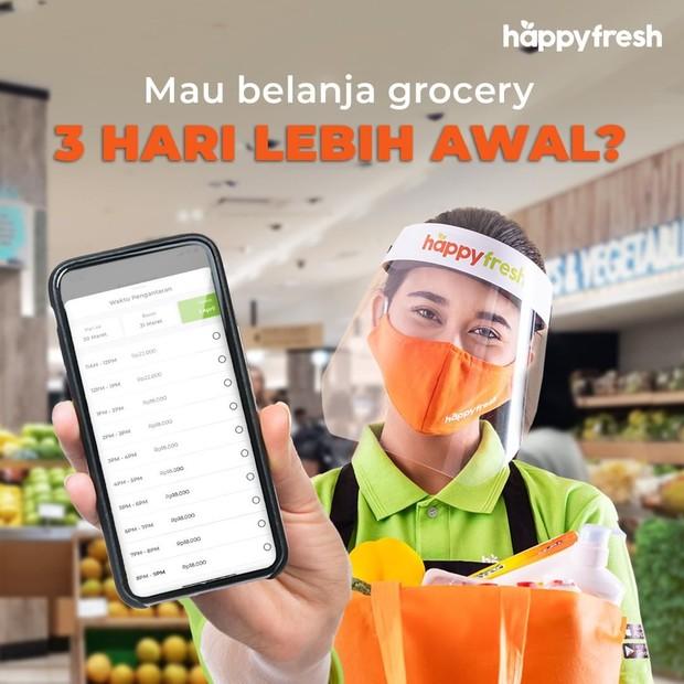 Aplikasi belanja online Happy Fresh