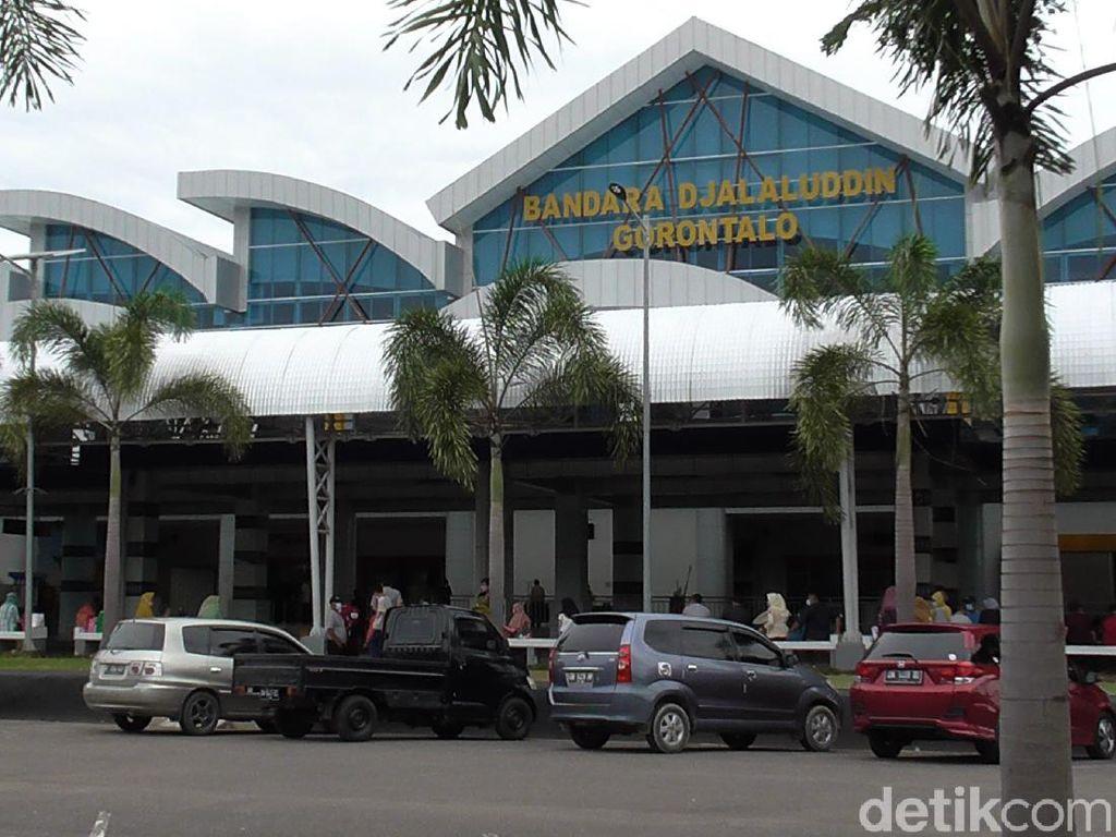 Petugas Bandara Djalaludin Gorontalo Positif COVID-19 Tambah Jadi 76 Orang