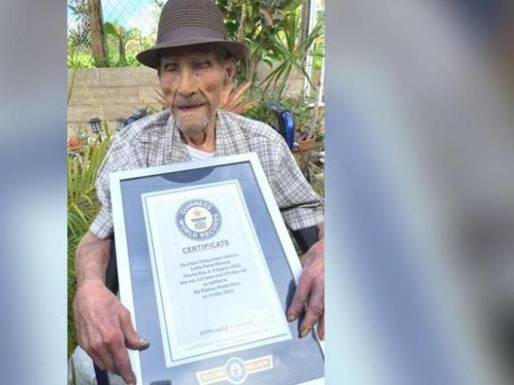 Ini Dia Pria Tertua di Dunia, Apa ya Rahasianya?