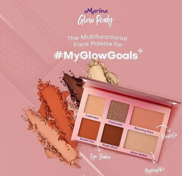 Marina Glow Ready Face Palette