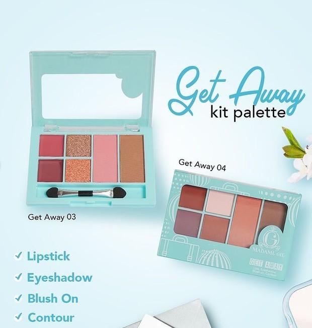 Madame Gie Getaway Make Up Kit - Face Pallete
