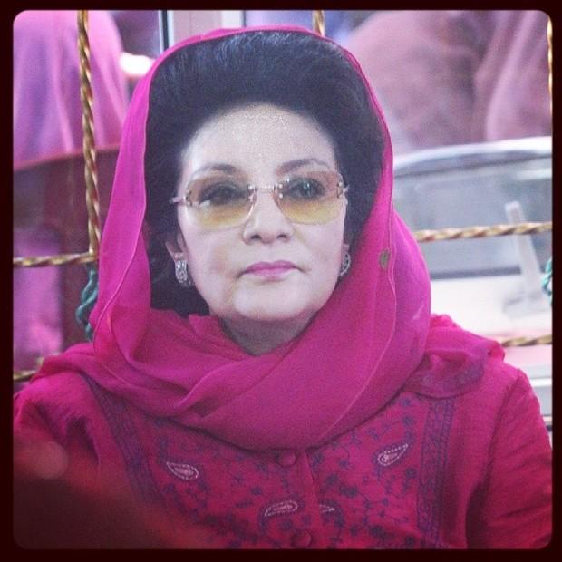 Farida pasha meninggal akibat covid-19 di usia 68 tahun /foto:instagram.com/wigi_keycot