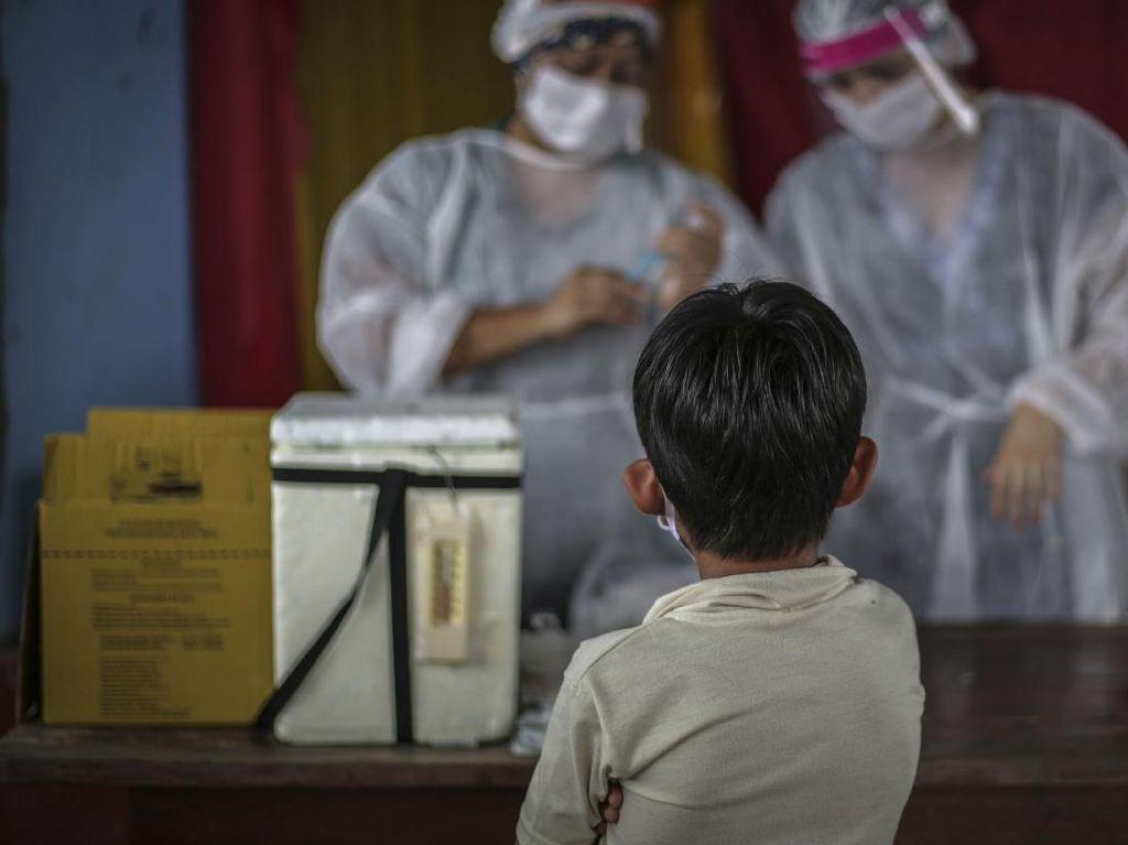 Kasus Corona Anak Meningkat: Gejala-Vaksinasi Dikebut