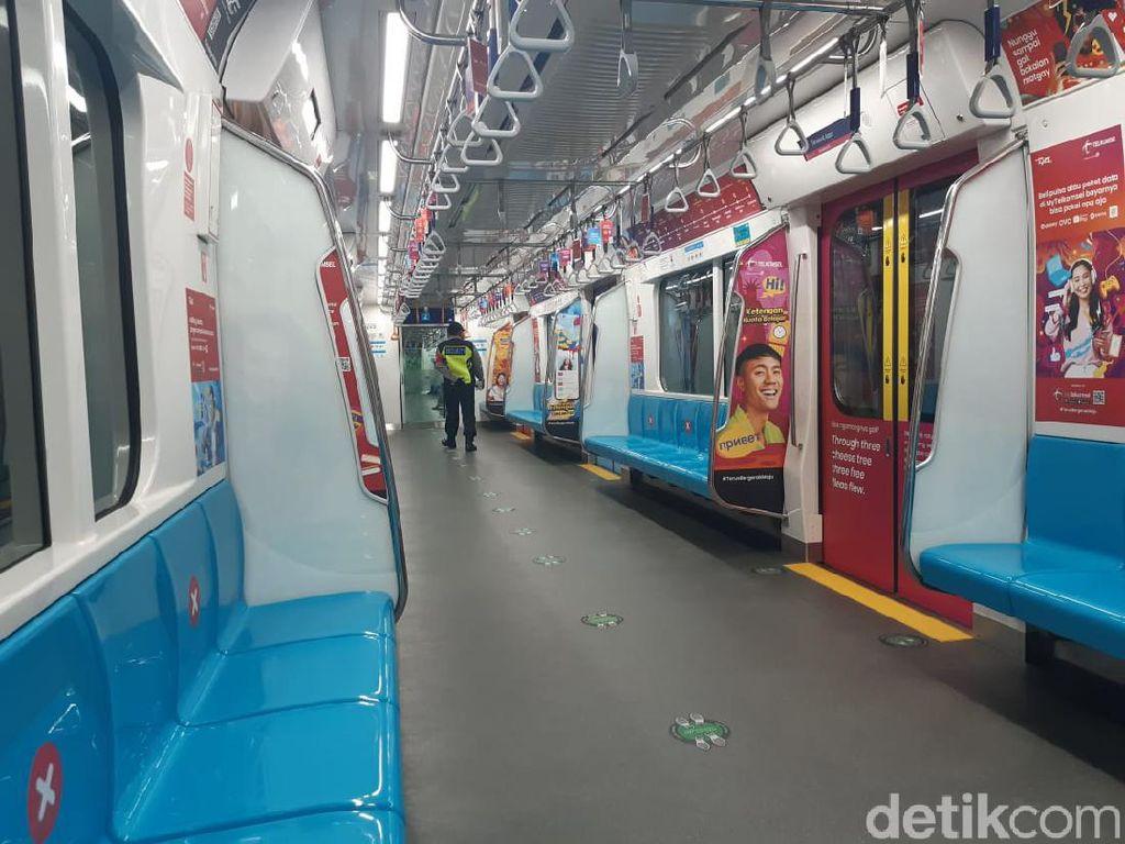 Catat! Ini Jadwal Terbaru MRT Jakarta Mulai Besok