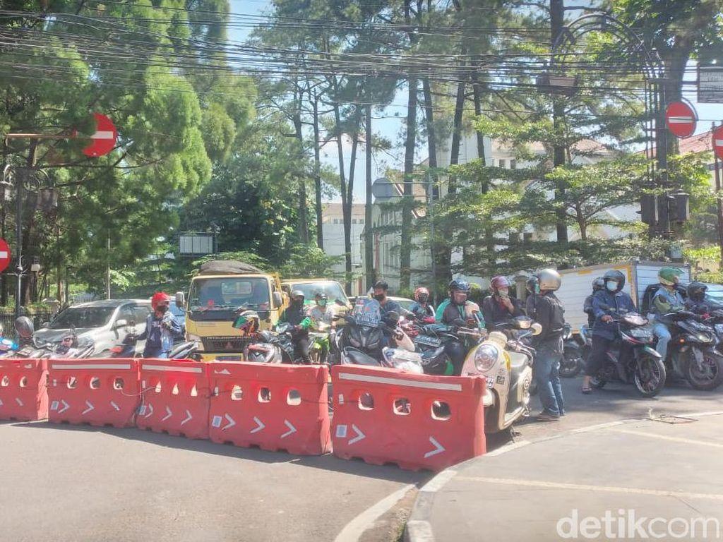Simak! Jadwal Baru Penutupan Jalan di Bandung Selama PPKM Darurat