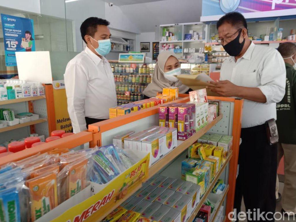 Polisi Jatim Sidak Apotek Cek Kelangkaan Obat di Tengah Pandemi COVID-19