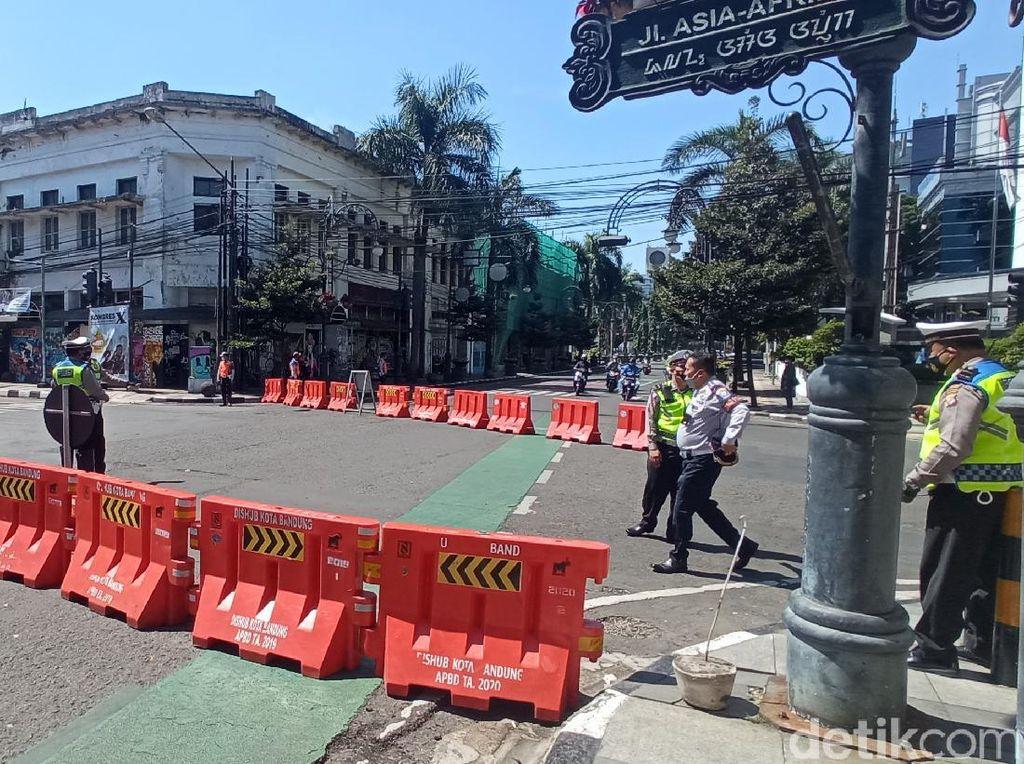 Catat! Ini Jalanan di Bandung yang Ditutup Selama PPKM Darurat
