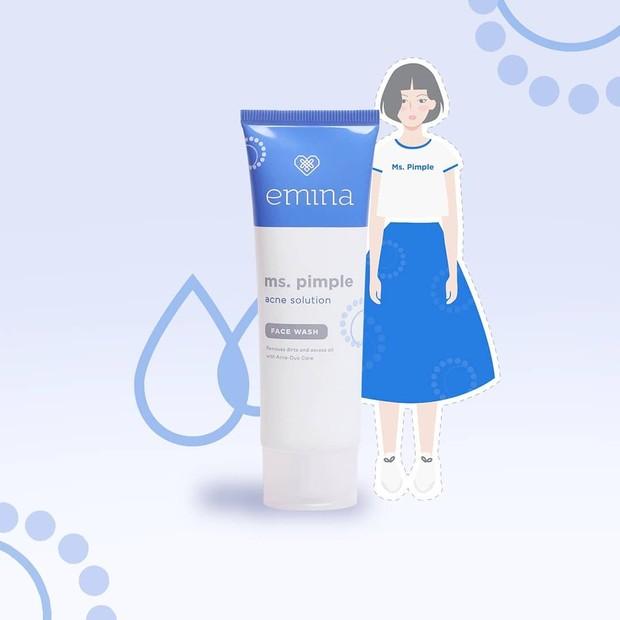 Emina Ms Pimple Face Wash sebagai skincare anak remaja.