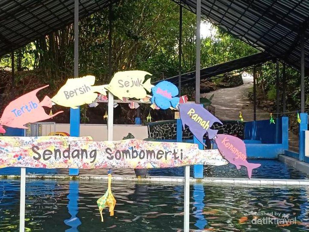 Yang Segar di Sleman, Kolam Sendang Sombomerti