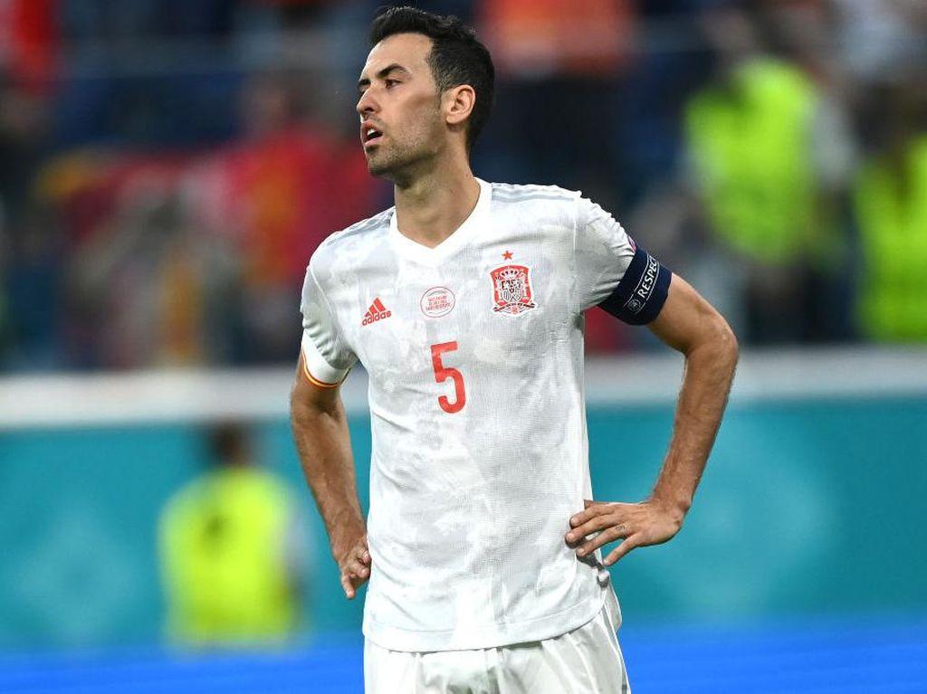 Sergio Busquets: Euro 2020 Jadi Piala Eropa Terakhirku