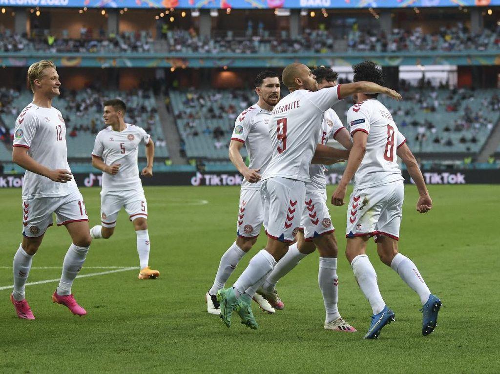 Terinspirasi Tim 1992, Denmark Siap Meledak di Semifinal Euro 2020