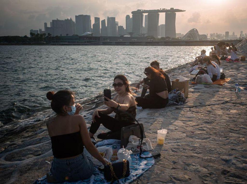 75 Persen Kasus COVID-19 di Singapura Sudah Divaksin, Gejala Lebih Ringan