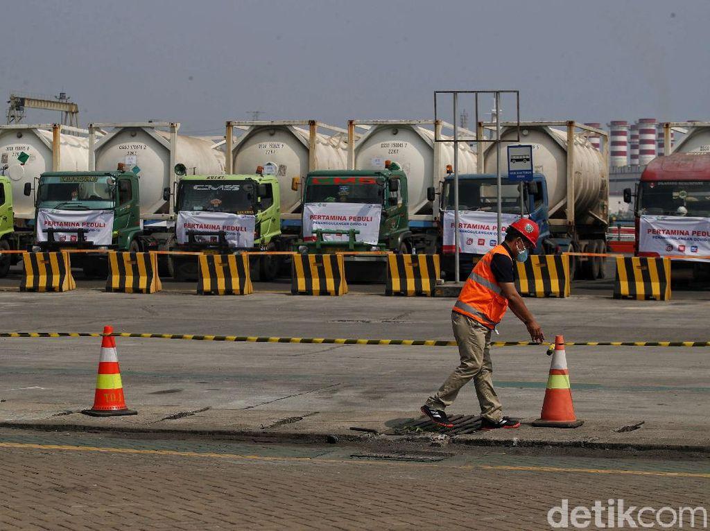 Intip Sumbangan Oksigen dari Pengusaha China di Kawasan Industri Morowali