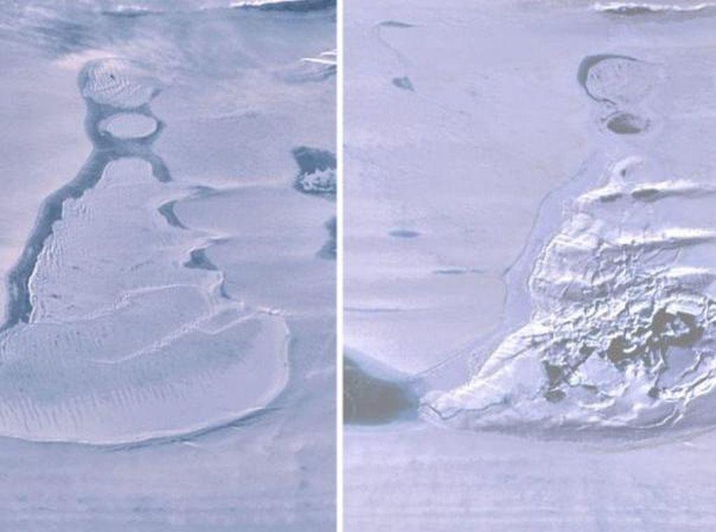 Misteri Danau Besar di Antartika Mendadak Lenyap