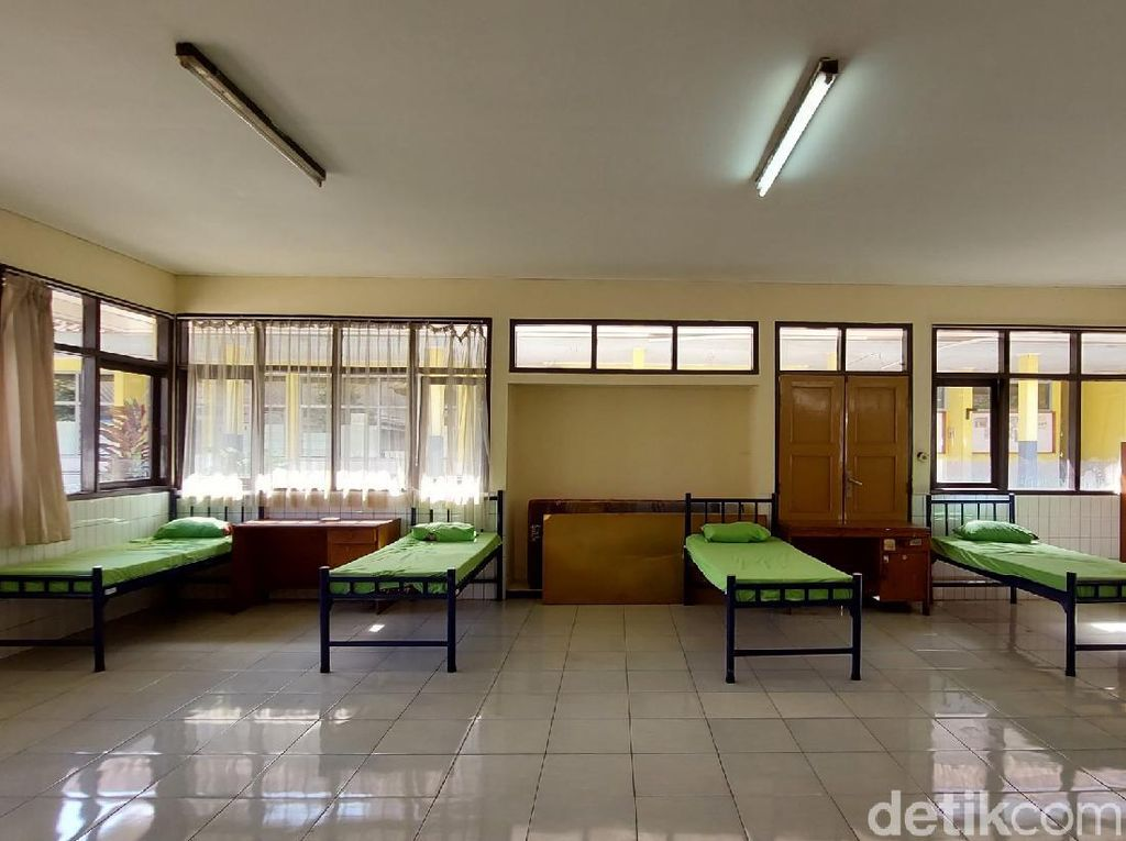 Gedung Milik Kemensos Jadi Lokasi Isolasi Mandiri di Bandung