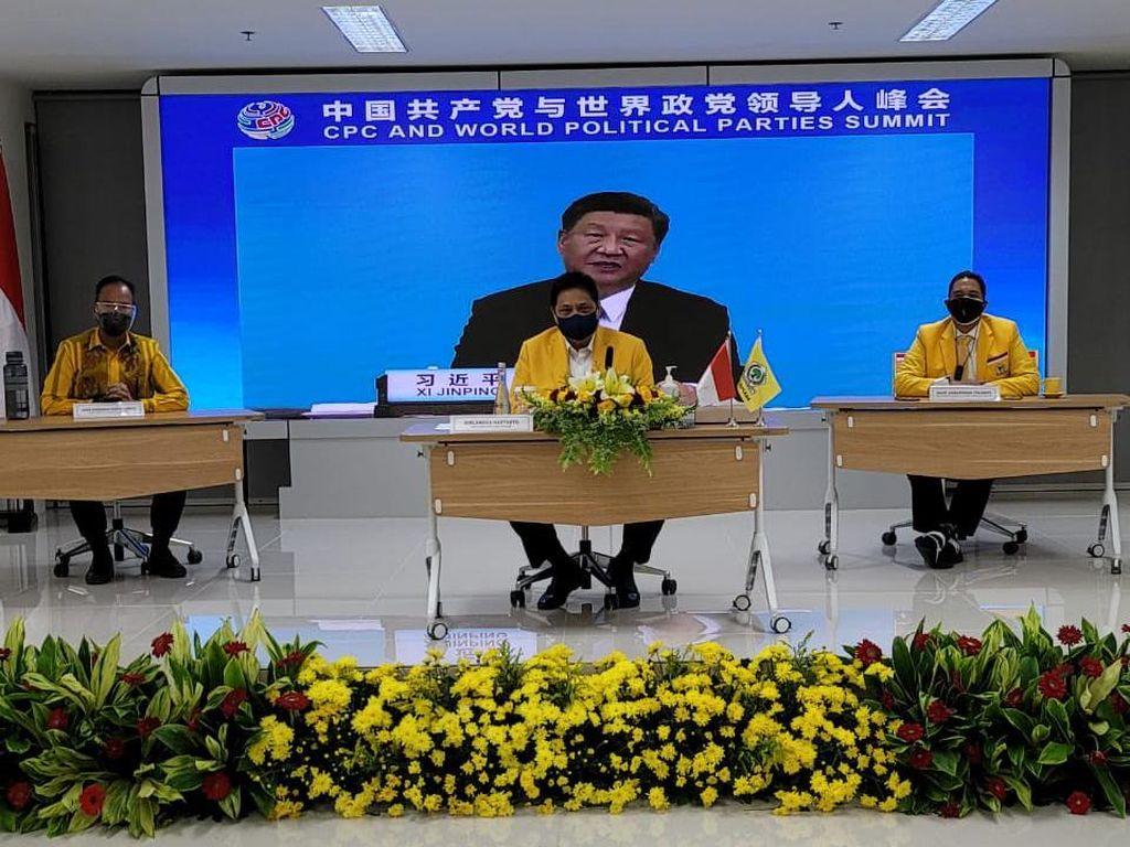 Airlangga Puji China: Pemerintah-Rakyat Bersinergi