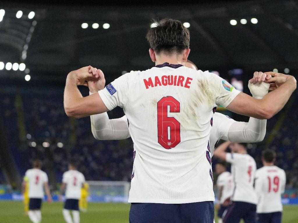 Maguire Ambyar Jadi Suporter di 2016, Siap Balas di Euro 2020