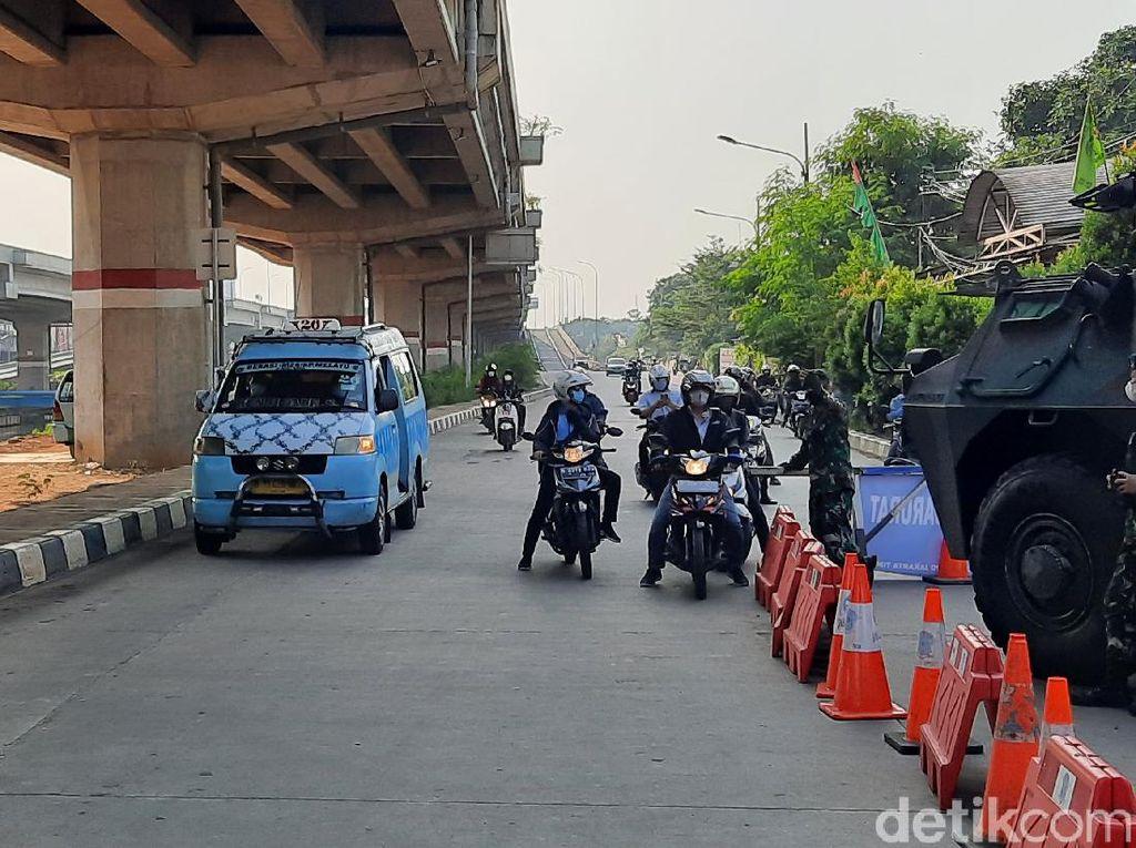 Polisi: Kemacetan di Penyekatan Kalimalang Turun 85 Persen Pagi Ini