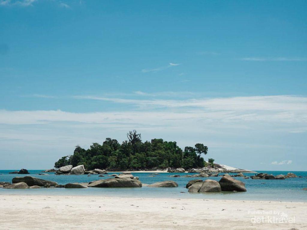 Pantai Jerangkat, Destinasi Perawan dari Bangka Barat