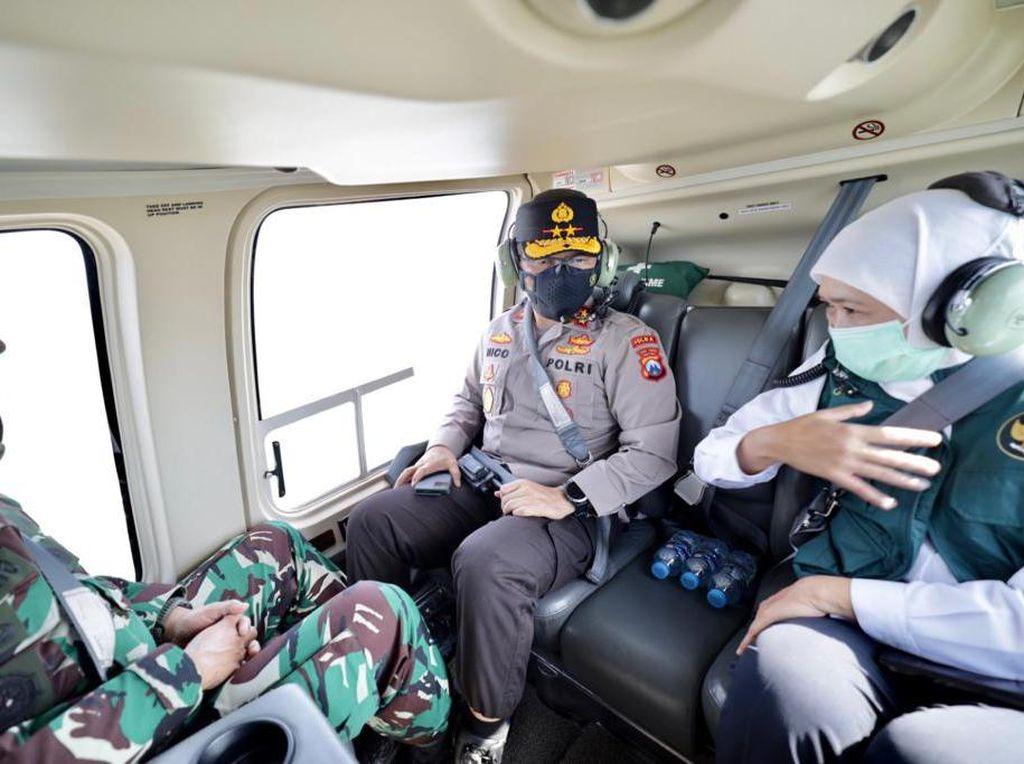 PPKM Darurat di Jatim Dipantau Lewat Udara, Apa Hasilnya?