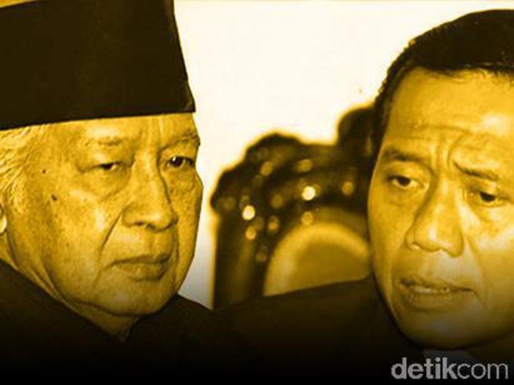 Antara Harmoko dan Soeharto