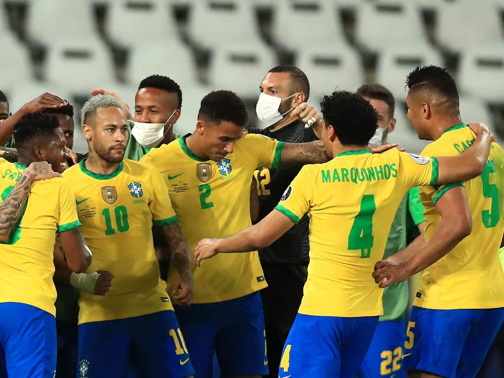 Brasil Vs Peru: Menang 1-0, Tim Samba ke Final Copa America 2021