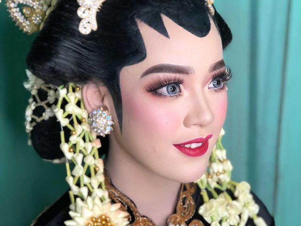 Viral Pernikahan Lebih Mahal Makeup dari Dekorasinya, Ini Wajah Pengantinnya